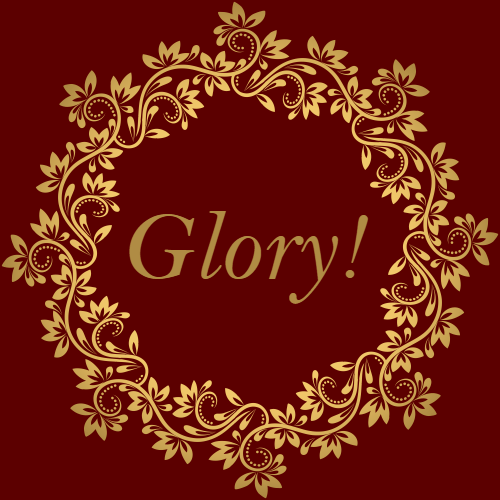 The whole Earth is filled with His Glory!