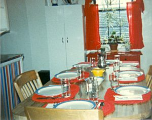 Chuck & Jane's Thanksgiving Table