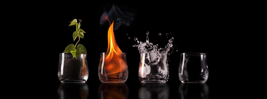 Glasses with 4 elements