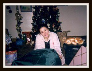 Becca Christmas bag