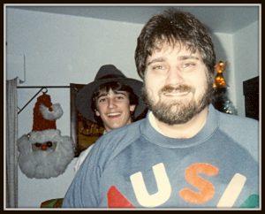 Chuck Christmas as Music Man