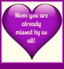 Mom Purple heart