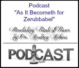 Destined As It Becometh for Zerubbabel