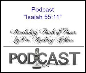 God's Word Isaiah 55:11