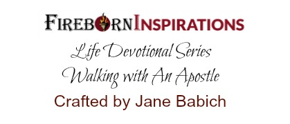 """""""Walking with An Apostle"""" Coming Soon!"""